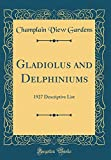 Amazon / Forgotten Books: Gladiolus and Delphiniums 1927 Descriptive List Classic Reprint (Champlain View Gardens)