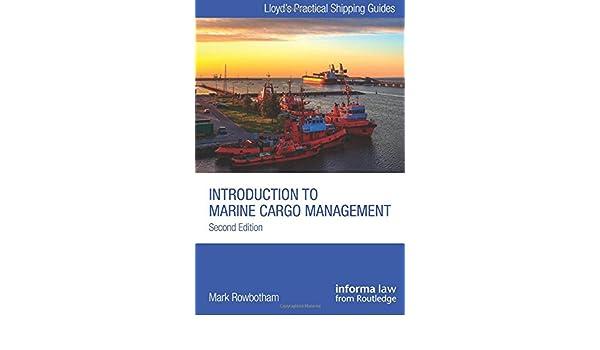 introduction to marine cargo management