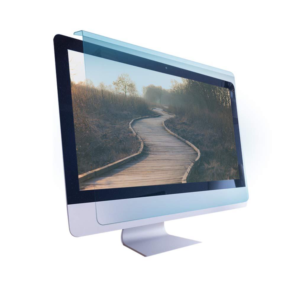 BozaBoza) Easy On/Off Acrylic Anti Blue Light Screen Protector 22''(for 20'' - 22'' Diagonally Measured 16:9/16:10 Aspect Ratio)