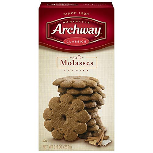 Archway Cookies, Soft Molasses, 9.5 Ounce