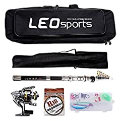 Fishing rod: - 1.5 / 1.8 / 2.1 / 2.4m four sizes for you - Ergonomic handle design gives you a comfortable feeling - Constructed of super durable and hard carbon fiber - Ultralight and portable, easily fits in car trunk, boat hatch or backpac...