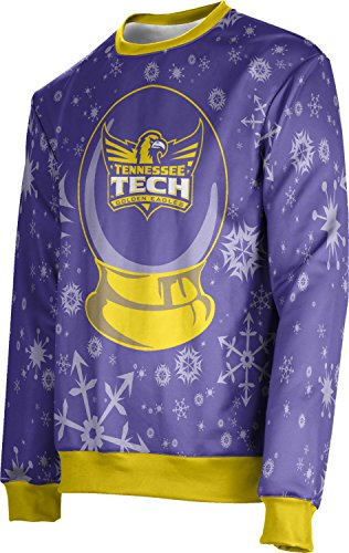 Tennessee Technological University Ugly Holiday Unisex Sweater - Snow Globe FE622