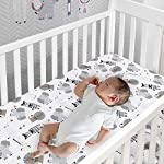 Lambs-Ivy-Jungle-Safari-GrayTanWhite-Nursery-6-Piece-Baby-Crib-Bedding-Set