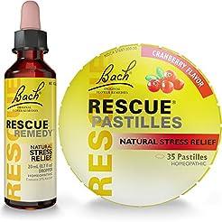 Rescue Remedy Dropper 20mL Plus Bonus Re...