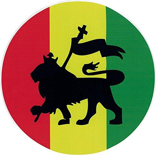 Rasta Lion - Bumper Sticker / Decal (4.5