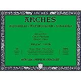 Arches Watercolor Paper Block, Cold Press, 9'' x 12'', 140 pound