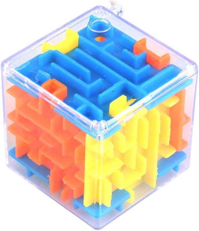 GHFHF Laberinto Tridimensional pequeño Magic Maze Universal 3D Baby Intelligence Toy Juguetes educativos Regalos portátiles para niños - Cromático: Amazon.es: Juguetes y juegos