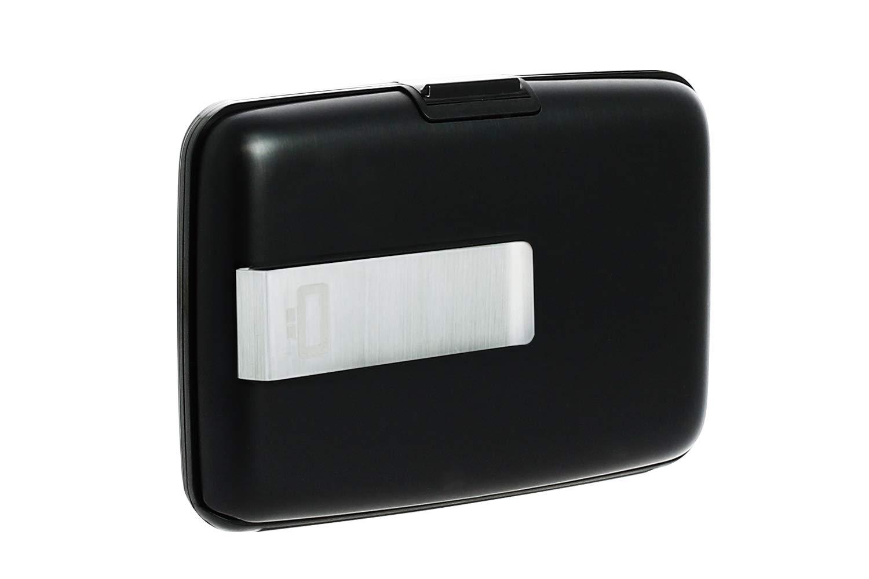 Black Clip pour Ceinture Portefeuille Rigide /& s/écuris/é Design/é en France /Él/égant et Moderne Protection RFID pour Toutes Vos Cartes Peut contenir Jusqu/'/à 7 Cartes et Billets