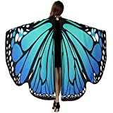 Christmas Dresses For Women - HITOP Soft Fabric Butterfly Wings Shawl Fairy Ladies Nymph Pixie Costume Accessory