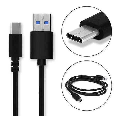 CELLONIC® Cable USB dato (1m 3A) Compatible con Blackview BV9500 Pro / BV9500 / BV9600 Pro / BV9000 Pro / BV8000 Pro / BV7000 Pro (USB A (Standard ...