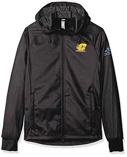 NCAA Central Michigan Chippawas Adult Women Team Logo Climastorm Full Zip Jacket, Medium, Black ()