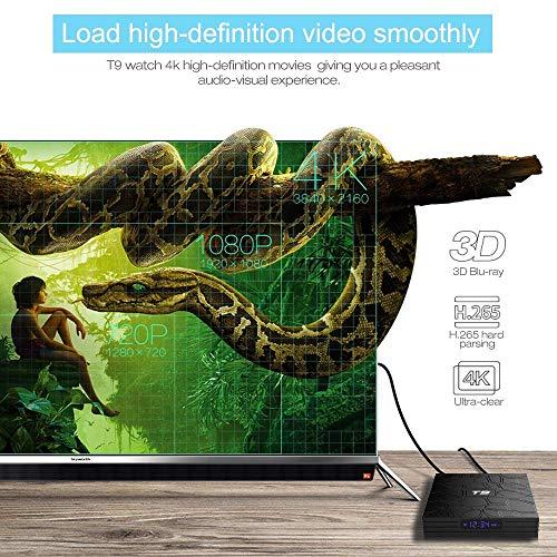 EASYTONE Android 8 1 TV Box 4GB RAM 64GB ROM,Quad Core/ 64