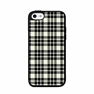 Black of and White courses Plaid- 2-Piece Dual Layer Phone Case Back Cover iPhone 4 for 4s span Kimberly Kurzendoerfer