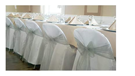 Fantastic Springrose 100 White Polyester Standard Folding Wedding Chair Covers Chair Sash Is Not Included Ibusinesslaw Wood Chair Design Ideas Ibusinesslaworg