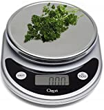 #8: Ozeri Pronto Digital Multifunction Kitchen and Food Scale, Elegant Black