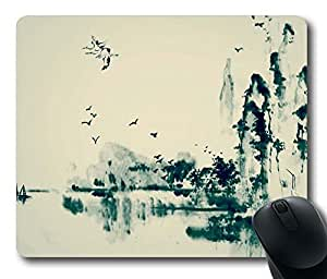 Chinoiserie,China Wind Rectangle Mouse Pad by icasepersonalized by mcsharks