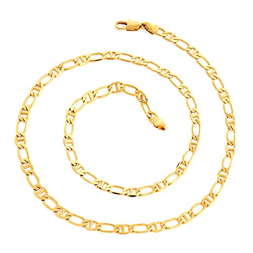 Followmoon 24inches 18k Gold Plated Necklace