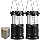 AMIR LED Camping Lantern, 2 Pack Lantern Flashlights - Best Reviews Guide