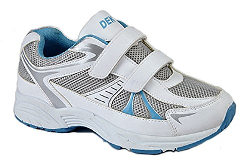 Dek - Zapatillas para mujer blanco - White/Blue