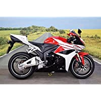 Black White Red Fairing Injection for 2009-2012 Honda CBR 600 RR 600RR CBR600RR
