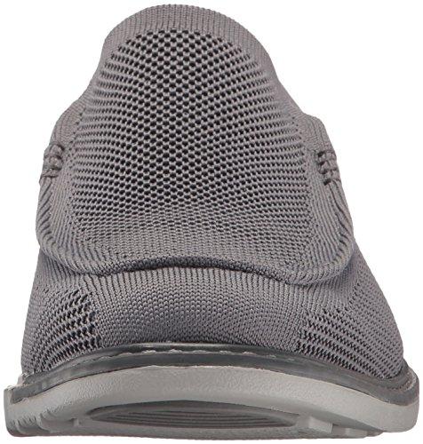 Mark Nason los angeles hombre Bayshore vestido Knit Slip-On Loafer Carbón