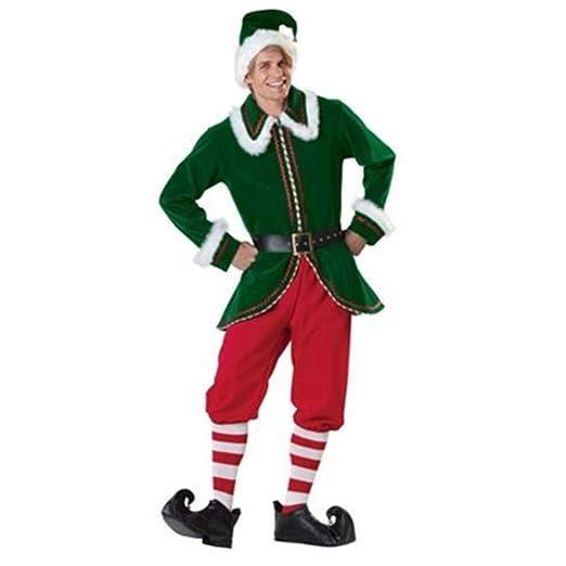 CVCCV Traje Adulto de Navidad Trajes de Cosplay Trajes de ...