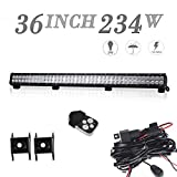 06 tundra grill guard - On Canopy Roof Rack Brush Bar Grill Guard Roll Bar Push Bumper 36In Combo Led Light Bar For F350 Kawasaki tractor 4wheeler Polaris Ranger Dodge Durango truck tractor F250 chevy pickup Sierra Xterra