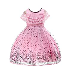 ♥ Waymine ♥         Product information:        Gender:Girls        Material:Polyester       Color : as shown        Pattern Type:polka dot        Decoration:pattern        Sleeve length:Sleeveless        Style:Fashion        Collar:O-...