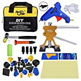 Super PDR 40 Pcs PDR Kits Auto Dent Puller Car Body Dent Repair Removal Tools with Tool Bag