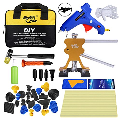 Super PDR 40 Pcs PDR Kits Auto Dent Puller Car Body Dent Repair Removal Tools with Tool Bag by Super PDR (Image #7)