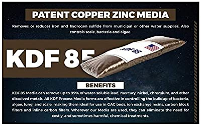 """Oceanic Water - Standard Whole House Big Blue Well Water Filter Set - 3 Stage Filtration Replacement Kit: Sediment, Carbon Block, KDF 85/Granular Activated Carbon (GAC) 4.5"""" x 20"""" inch"""