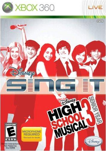 Disney Sing It: High School Musical 3 Senior Year - Xbox 360 (Game Only)