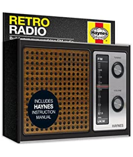 Do it yourself fm retro radio kit manual amazon franzis haynes fm retro radio kit no soldering solutioingenieria