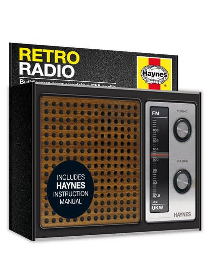 Price comparison product image Haynes FM Retro Radio Kit (No Soldering)