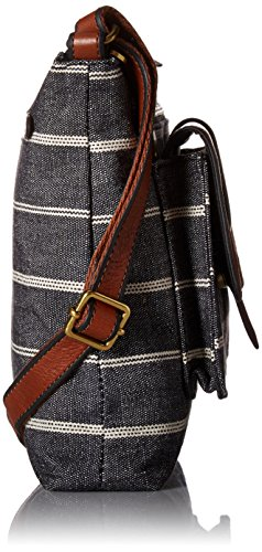 Crossbody Stripe Kinley Bag Chambray Fossil 5HqZwX6P