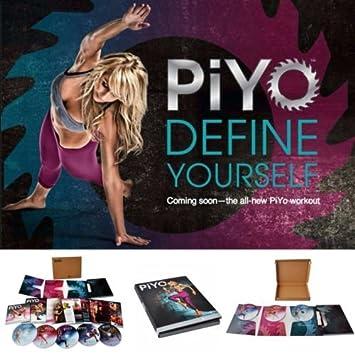 Piyo Base Kit 5 DVD entrenamiento con ejercicio vídeos + ...