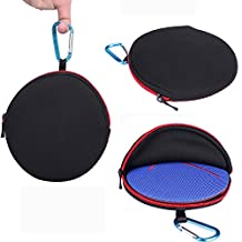 Travel Zipper Sleeve Case Bag For UE ROLL 2 Logitech UE ROLL 360 Wireless Portable Bluetooth Speaker (Bag)