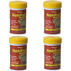 Tetra TetraFauna ReptoTreat Gammarus Baby Shrimp Treat, 4 Pack