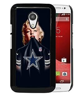 Popular Custom Designed Cover Case With Dallas Cowboys 38 Black For Motorola Moto G 2nd Generation Phone Case