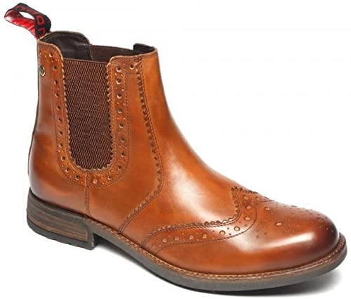 MENS BROGUES GENUINE LEATHER ANKLE