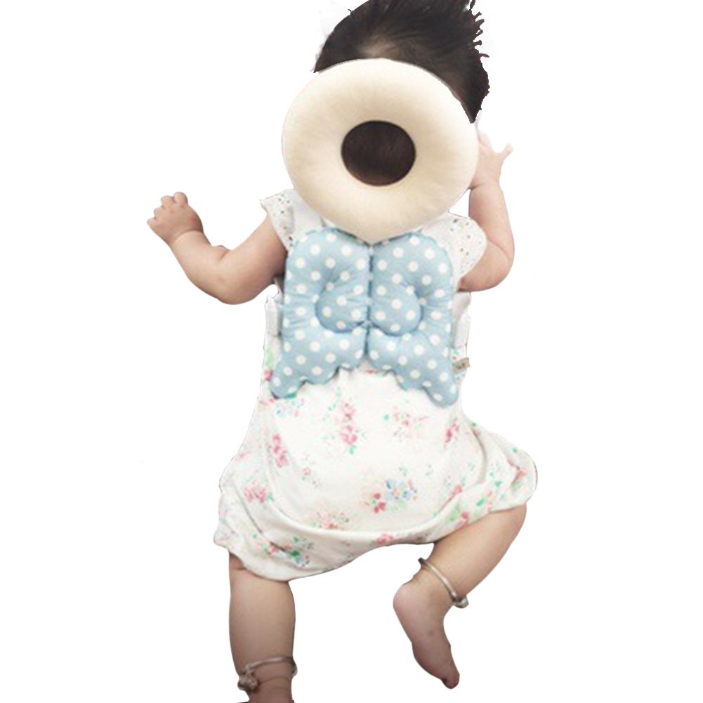 Baby Head protection pad Toddler headrest pillow baby neck Cute wings nursing drop resistance cushion