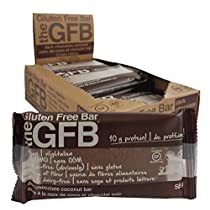 The Gluten Free Bar Dark Chocolate Coconut Bars, 12 Count