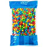 Bulk M&M's Peanut in a Resealable Bomber Bag - Guaranteed 5 lbs - Fresh, Tasty Treats – Great for Office Candy Bowls - Wholesale - Cooking - Baking - Vending - Holidays - Parties