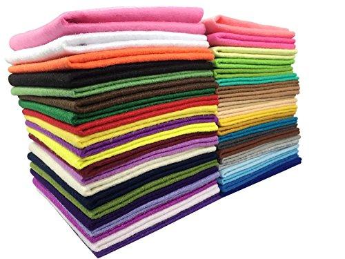 Felt Wool Floss - Misscrafts 42pcs 12