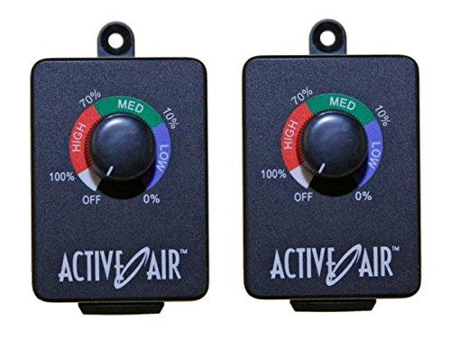 2 HYDROFARM ACSC In-Line Duct Fan Speed Adjuster 15 AMP Adjuster Controller PAIR (2 Speed In Line Duct)