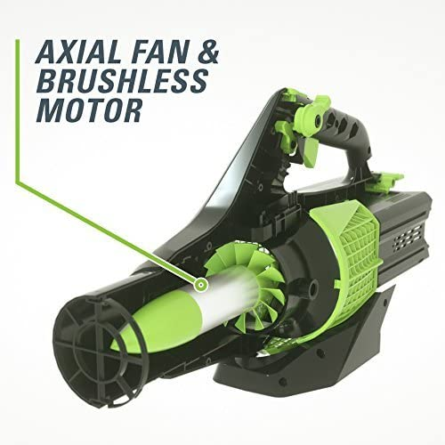 GreenWorks Pro Baretool 60-Volt Max Lithium Ion Li-ion 540-CFM 140-MPH Heavy-Duty Brushless Cordless Electric Leaf Blower Tool Only, Battery and Charger Not Included