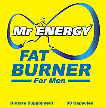 Mr ENERGY Fat Burners for Men 90 Capsules – Best Fat Burner Weight Loss Pills Belly Fat