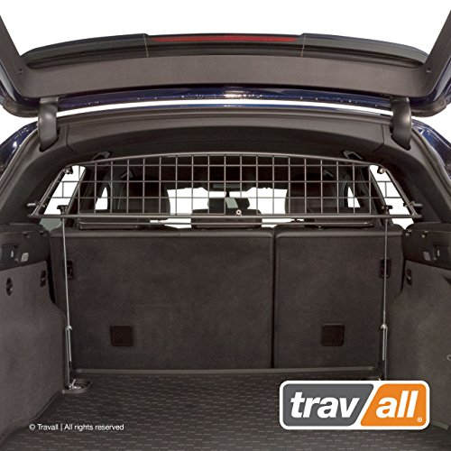 Tubular Pet Barrier - Travall Guard Compatible with Audi Q5 (2008-2016) Also for Audi SQ5 (2012-2017) TDG1238 - Rattle-Free Steel Pet Barrier