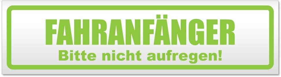 Bitte Nicht aufregen Magnetschild Schild magnetisch Kiwistar Fahranf/änger