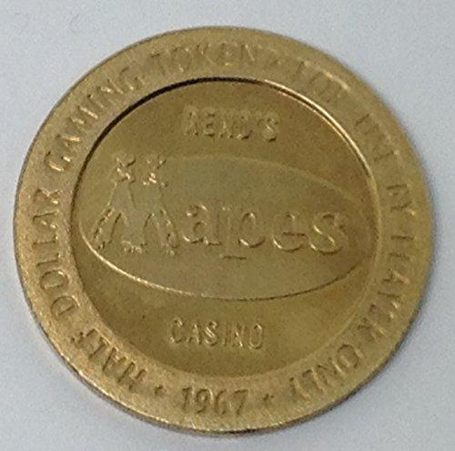 1967 Mapes Half Dollar Casino Slot Token Las Vegas, Nevada (Casino Slot Token)